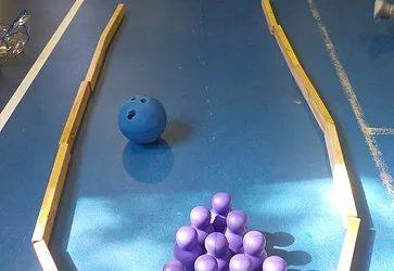 Ten-pin bowling!